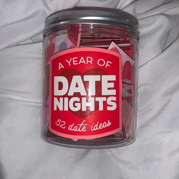 A year of date nights! 52 date ideas!